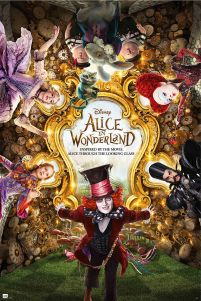 Alice in Wonderland - Johnny Depp - plakat
