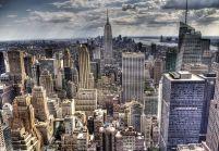 16921a70 Fototapeta na całą ścianę z miastem New York z kolekcji Nice wall