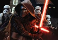Star Wars 7 The Force Awakens - fototapeta