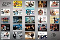 James Bond - 23 Movie Posters - plakat