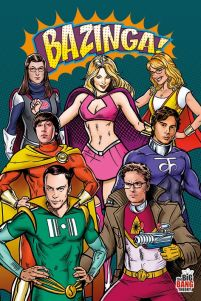 The Big Bang Theory bohaterowie - plakat