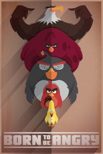 Angry Birds (Born to be Angry) - plakat
