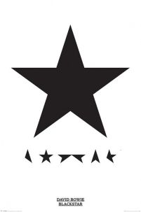 David Bowie Blackstar - plakat