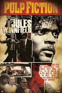 Pulp Fiction - Jules Winnfield Samuel L. Jackson- plakat