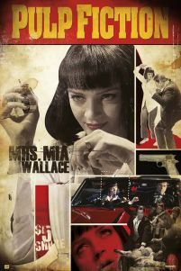 Pulp Fiction - Mia Wallace - plakat