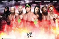 plakat WWE Collage 2014