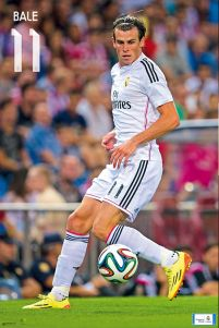 Real Madrid Bale 14/15 - plakat