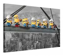 Despicable Me Lunch On A Scyscraper