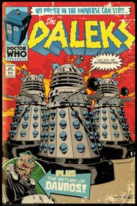 Doctor Who Daleks - plakat