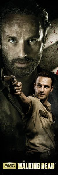 The Walking Dead / Żywe trupy - Rick - plakat