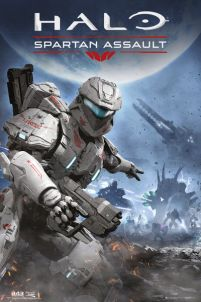 plakat do gry halo spartan assault