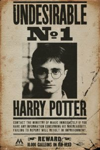 Harry Potter Undesirable No 1 - plakat