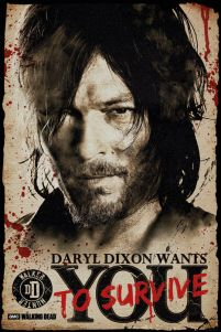 The Walking Dead - Daryl Needs You - plakat