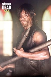 The Walking Dead Daryl Faith Portrait - plakat