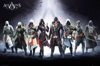 Assassins Creed Postacie - plakat