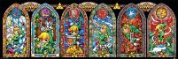 The Legend Of Zelda (Stained Glass) - plakat z gry