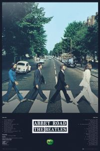 Plakat The Beatles Abbey Road 61x91,5 cm