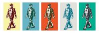 plakat z Doctor Who (Walking Cyberman)