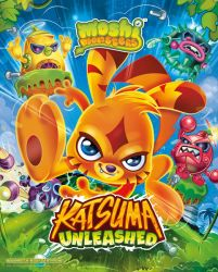 Moshi Monsters (Katsuma Unleashed) - plakat