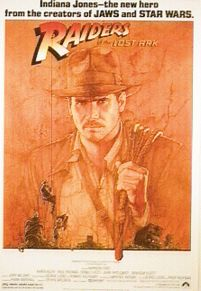 Indiana Jones - Raiders of the Lost Ark - plakat