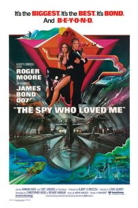 James Bond - The Spy Who Loved Me - plakat