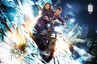 plakat z Doctor Who (Motorcycle)