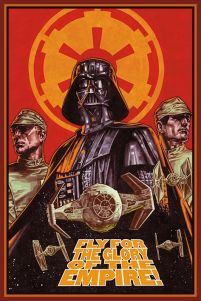 Star Wars (Fly For The Glory) - plakat