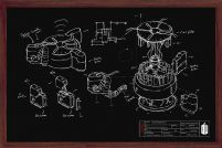Doctor Who (Chalk Board) - plakat