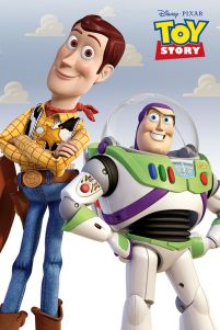 Toy Story Woody i Buzz - plakat 61x91,5 cm