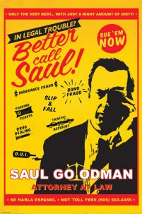 Breaking Bad (Better Call Saul Attorney At Law) - plakat