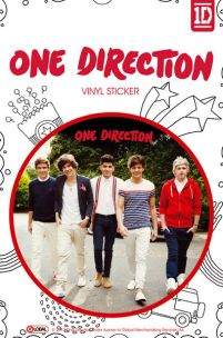 One Direction Walking - naklejka
