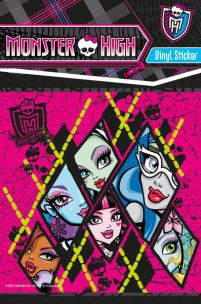 Monster High - Lalki - naklejka