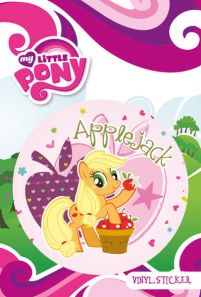 My Little Pony - Applejack - naklejka