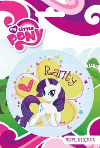 My Little Pony - Rarity - naklejka