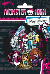 Monster High Girls - naklejka