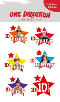 One Direction Stars - naklejki