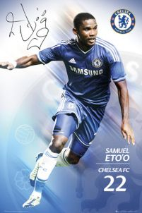 4f10af04a80f plakat na ścianę z zawodnikiem londyńskiego klubu Chelsea Samuelem Eto O
