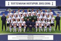 plakat drużynowy Tottenham Hotspur Team Photo 15/16