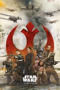 Star Wars Rogue One Rebels - plakat