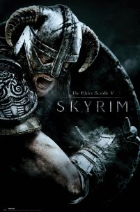 The Elder Scrolls V Skyrim - plakat