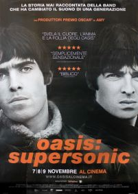 Oasis Supersonic Cinema - plakat