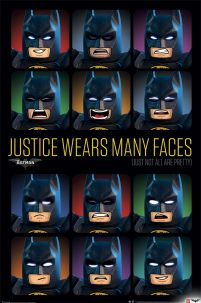 LEGO® Batman Justice Wears Many Faces - plakat