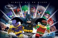 LEGO® Batman Always Bet On Black - plakat