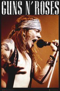 Plakat Na ścianę Z Wokalistą Guns N Roses Axel