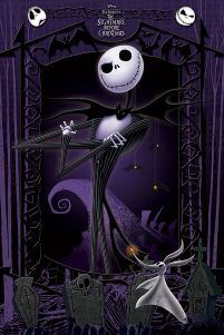 Plakat It's Jack z filmu animowanego Nightmare Before Christmas