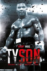 plakat do siłowni Mike Tyson Rekordy