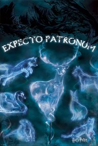Harry Potter Expecto Patronum - plakat z filmu