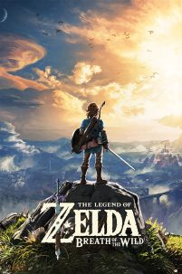 The Legend Of Zelda Breath Of The Wild - plakat z gry