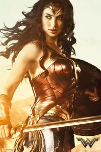 Wonder Woman Sword - plakat z filmu