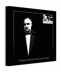 The Godfather (Red Rose) - Obraz na płótnie